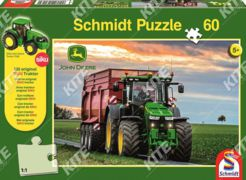 John Deere puzzle 8370R +Siku kistraktor