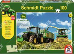 John Deere puzzle 7310R +Siku kistraktor