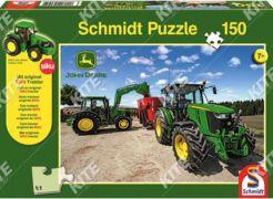 John Deere Puzzle +Siku kistraktor