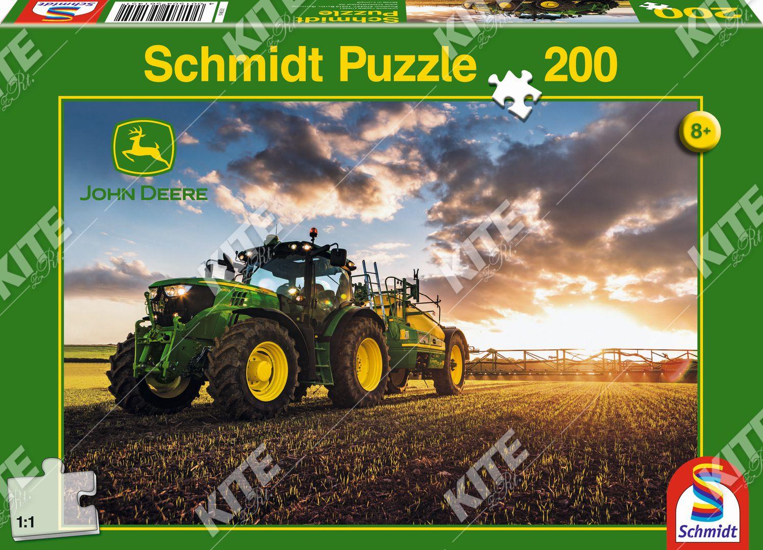 John Deere puzzle 6150R