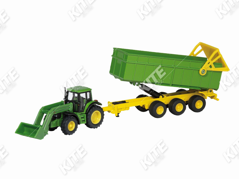 John Deere traktor-makett