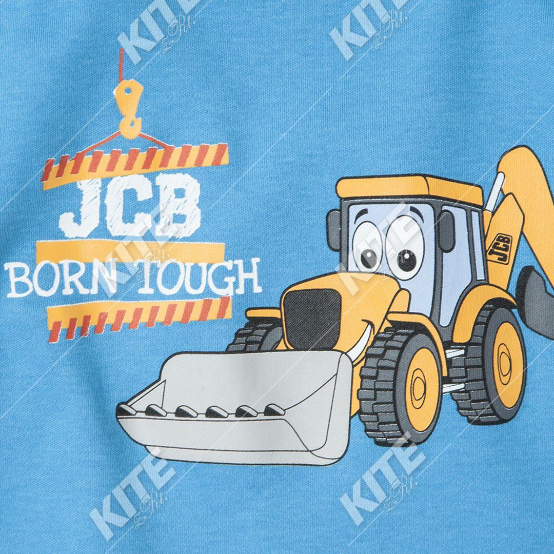 JCB gyerek hosszú ujjú póló