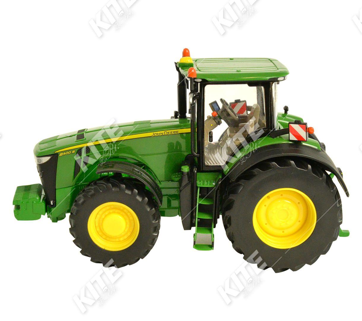 John Deere 8400R traktor-makett