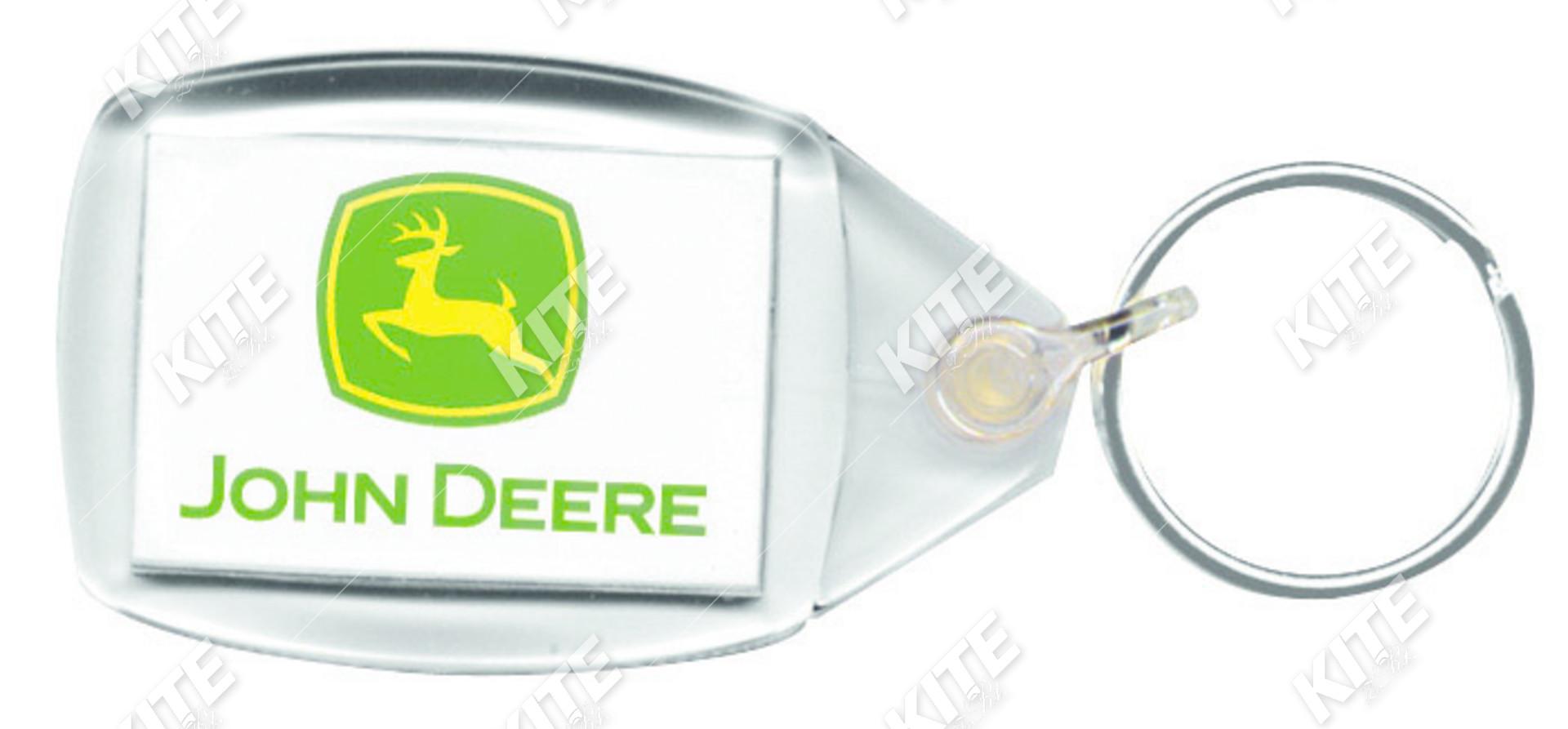 John Deere kulcstartó
