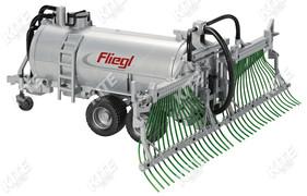 Fliegl tartálykocsi makett