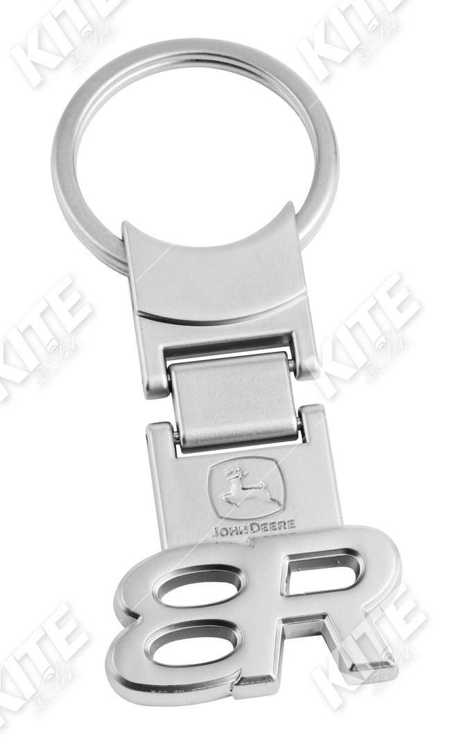 John Deere fém kulcstartó (8R)