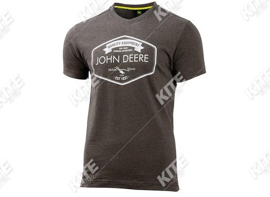 John Deere férfi rövid ujjú póló