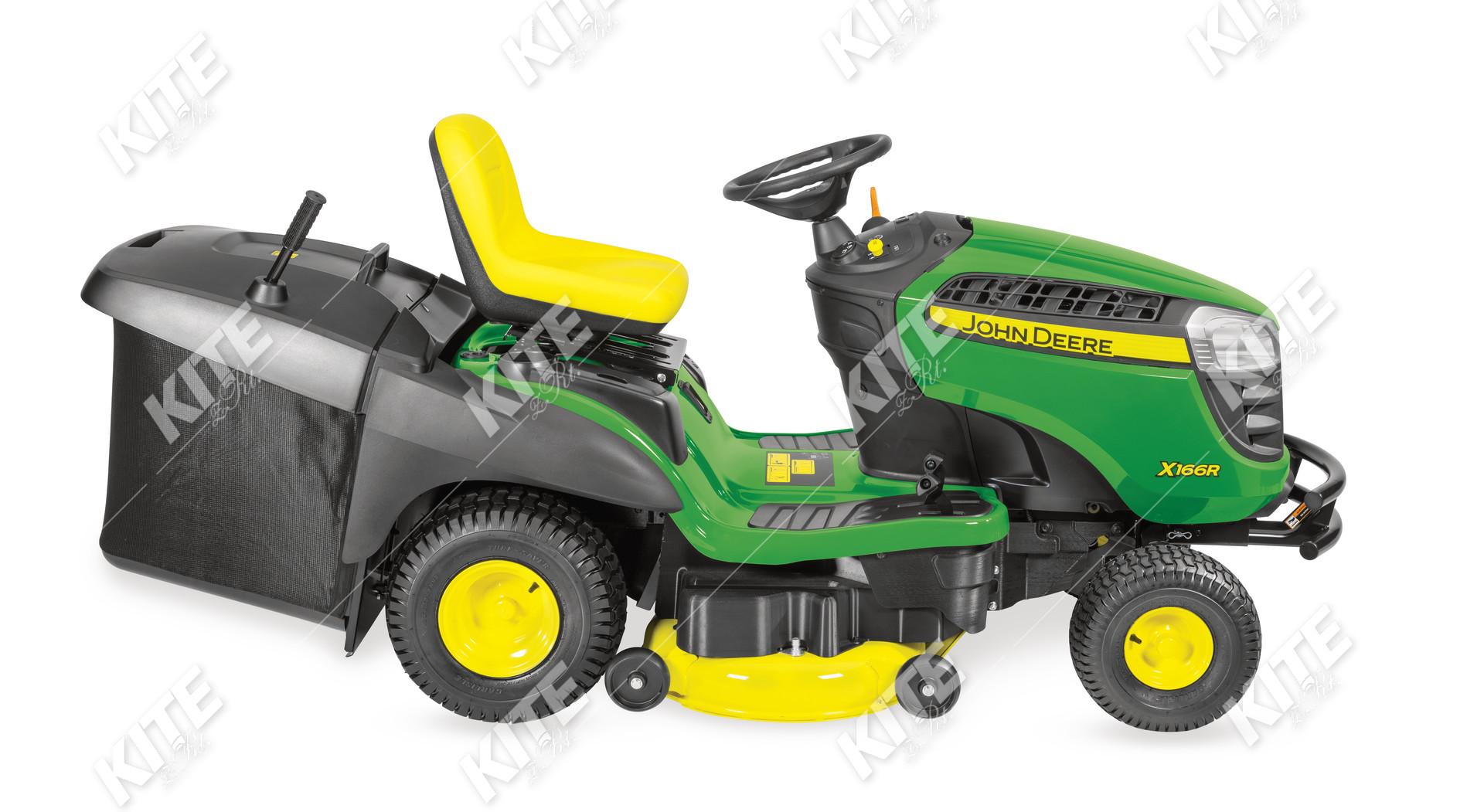 John Deere X166R fűnyírótraktor