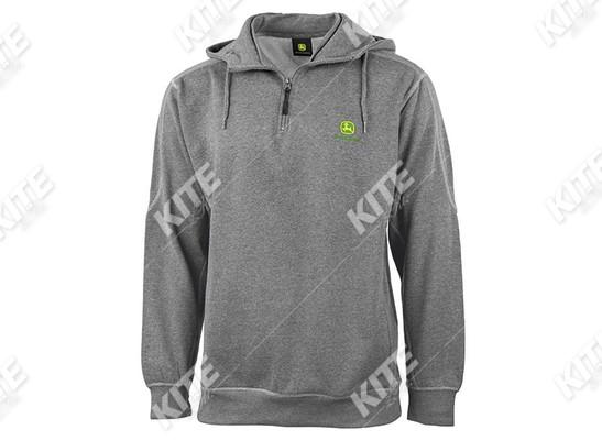 John Deere kapucnis pulóver