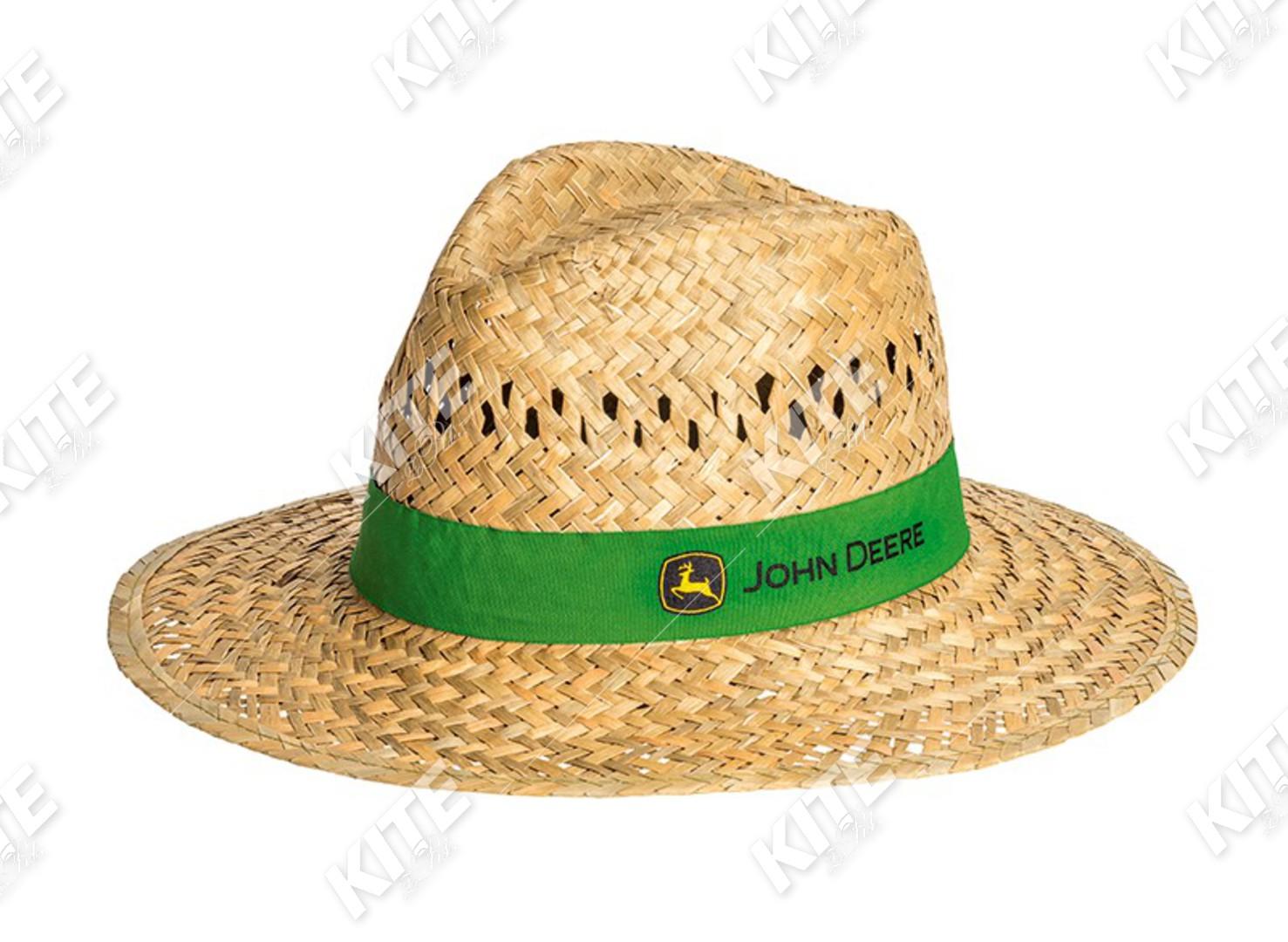 John Deere szalmakalap