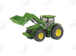 John Deere 8430 traktor makett homlokrakodóval
