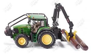 John Deere 7530 erdészeti traktor