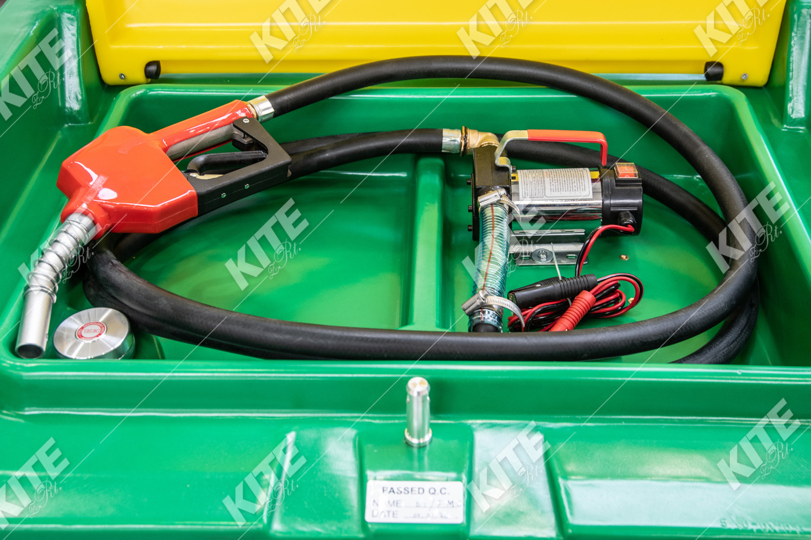 Szállítható üzemanyagtartály