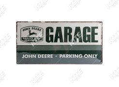 John Deere fém tábla