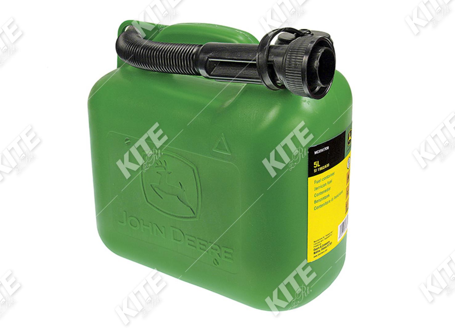 John Deere üzemanyagkanna (5 literes)
