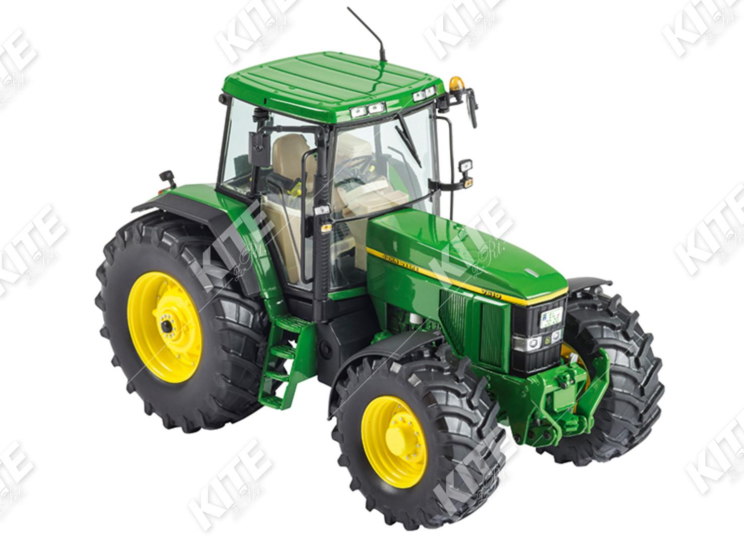 John Deere 7610 traktor makett