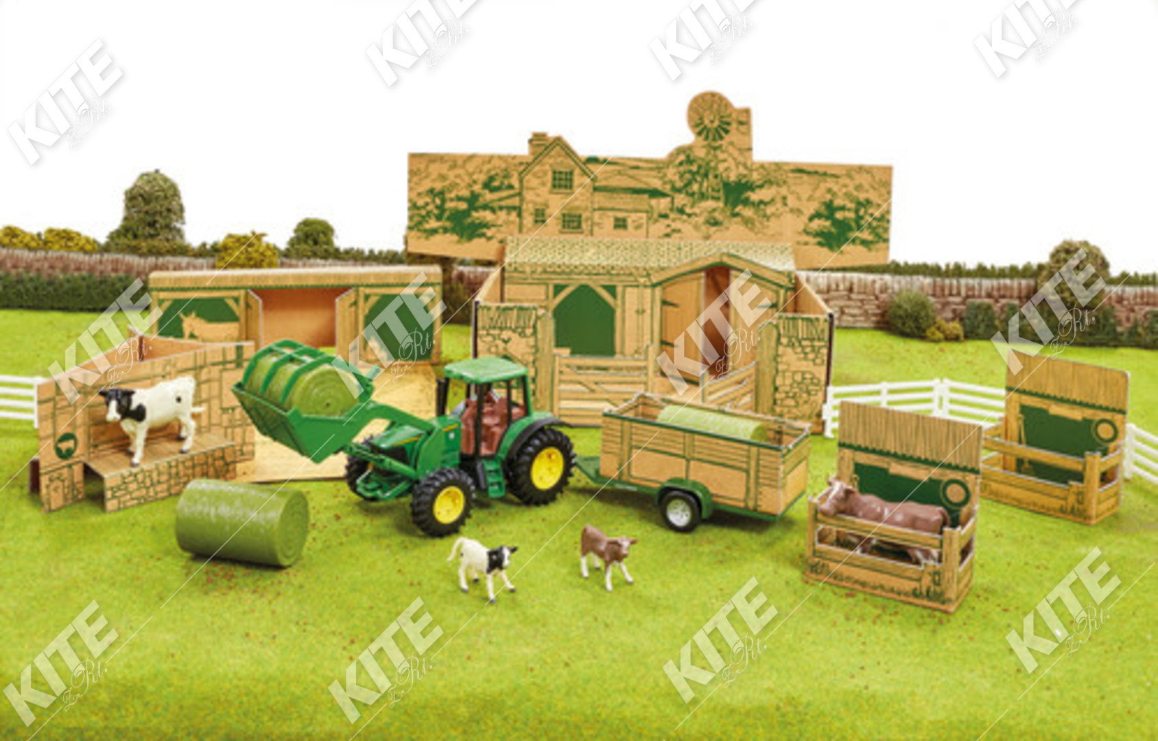 John Deere farm játék