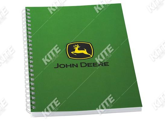 John Deere jegyzetfüzet