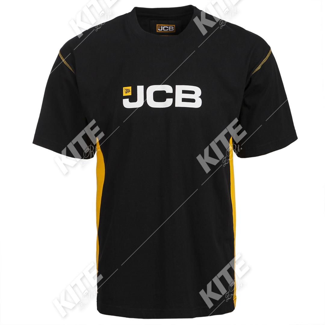 JCB férfi rövid ujjú póló